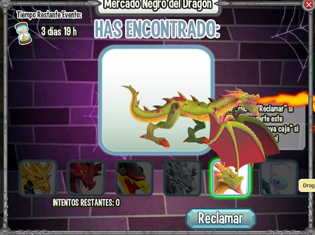 imagen del dragon wyvern en la caja del mercado negro