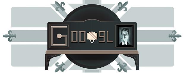 """احتفال جوجل و جون لوجي بيرد مخترع التلفزيون من هو """"John Logie Baird"""""""