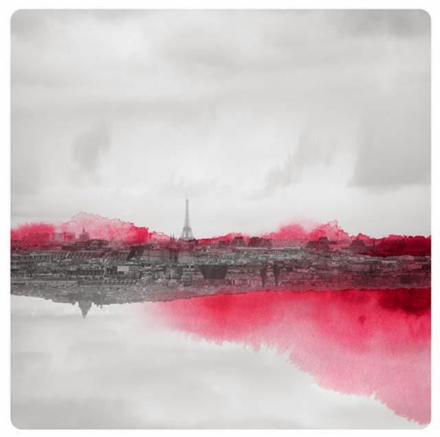 Fabienne Rivory, Miroir, fotografía, acuarelas