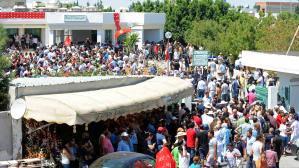 Manifestation en Tunisie après le meurtre d'un opposant