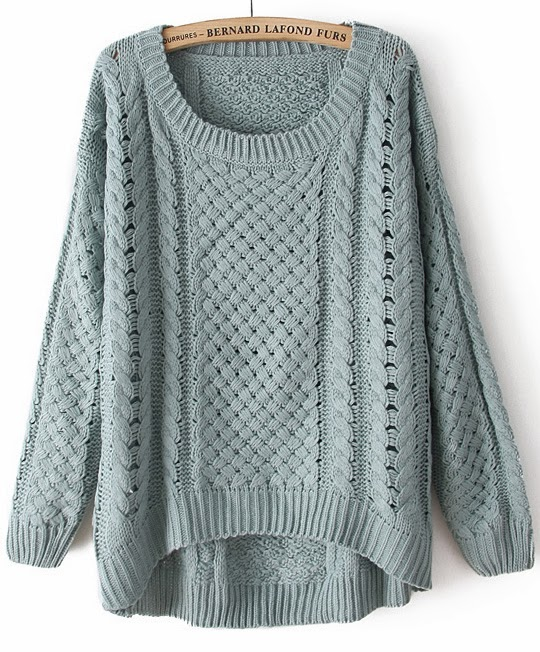 http://www.sheinside.com/Green-Round-Neck-Long-Sleeve-Hollow-Sweater-p-95988-cat-1734.html
