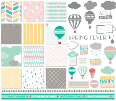 April Showers Kit - Digital Download