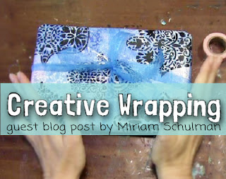 creative gift wrapping ideas | handmade wrapping paper tutorial