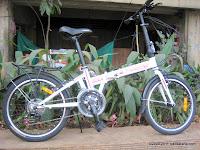 Sepeda Lipat Element Super Best 21 Speed Shimano 20 Inci