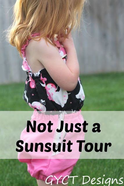 Paneled Sunsuit Tour for Call Ajaire