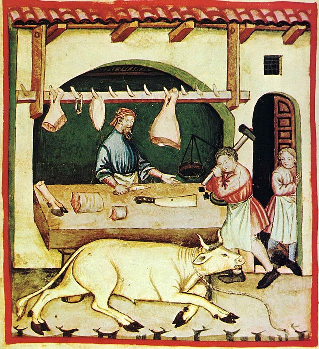 el oficio de carnicero