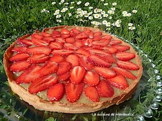 tarte à la rhubarbe et fraises recette facile