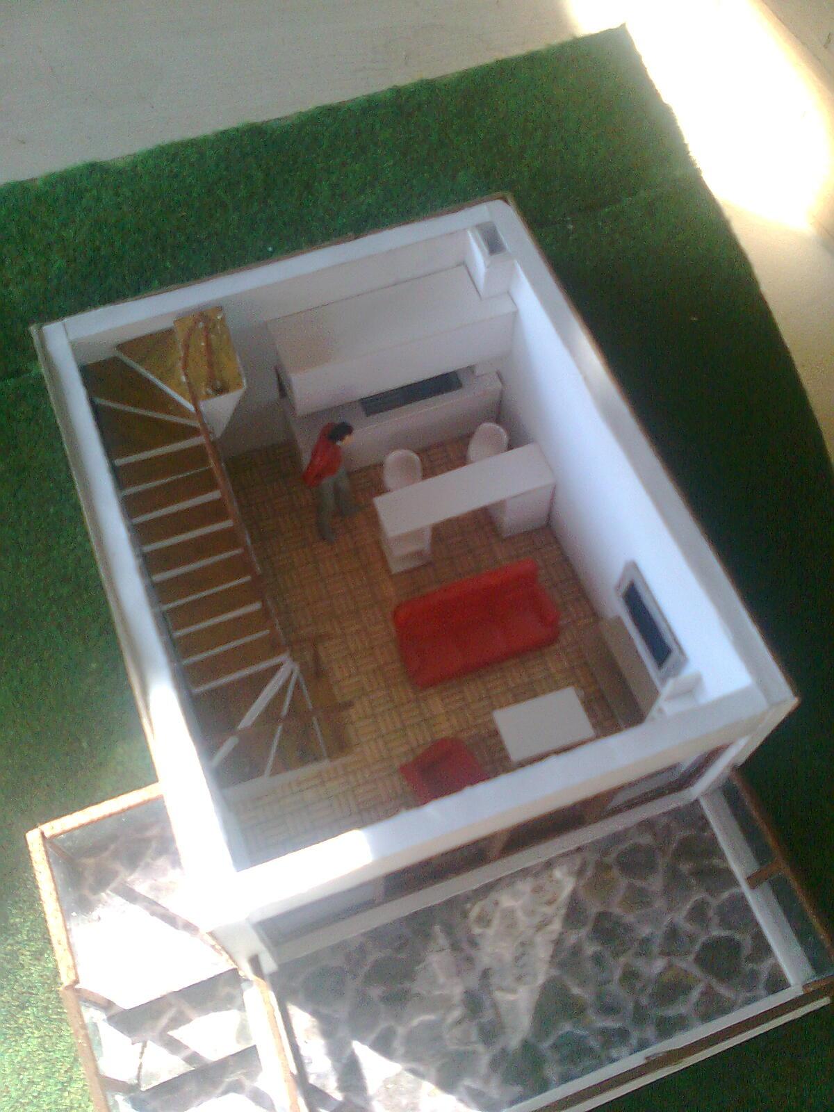 Okul projem için yapmış olduğum tatil köyündeki bir birimin 1 50