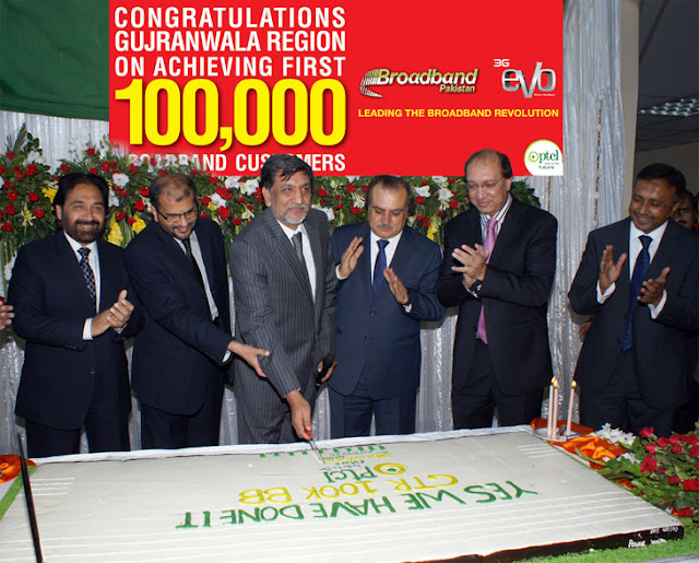 100,000 DSL Customers Celebration