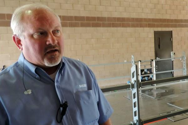 Richard Buck, NASCAR Sprint Cup Series Managing Director