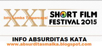 info lomba film pendek nasional