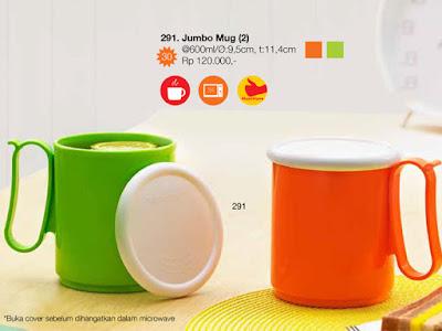 Tupperware Jumbo Mug (Mug Besar)