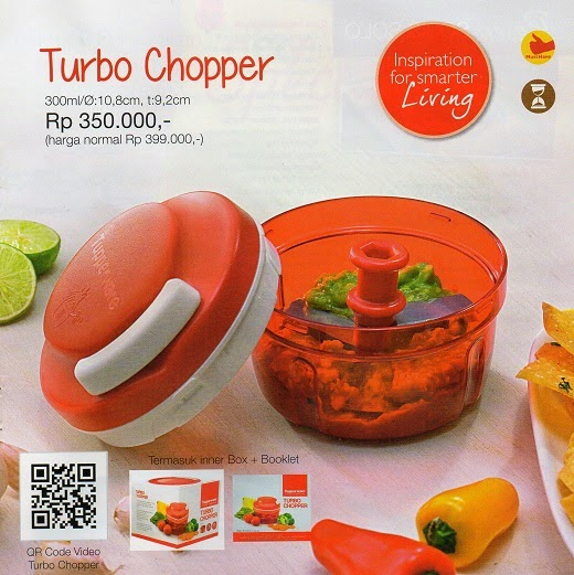Tupperware Promo Januari 2015 Turbo Chooper