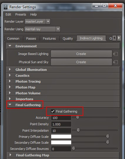 FG Render Setting in Maya 04
