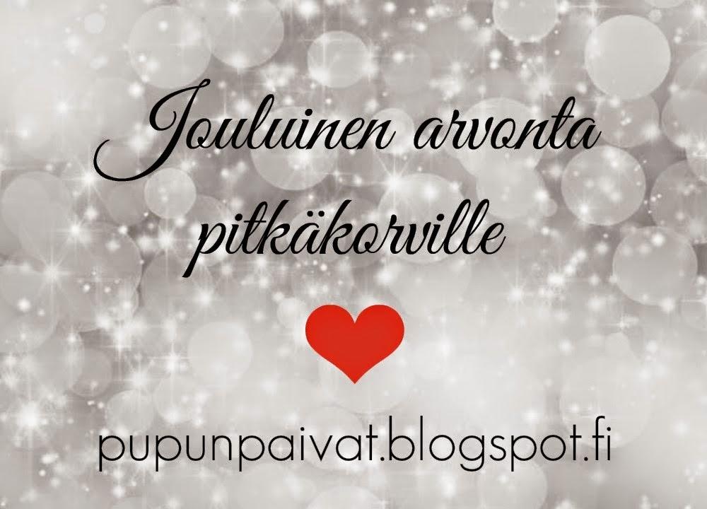http://pupunpaivat.blogspot.fi/2014/11/jouluinen-arvonta.html?showComment=1416338366151#c3495838319180855103