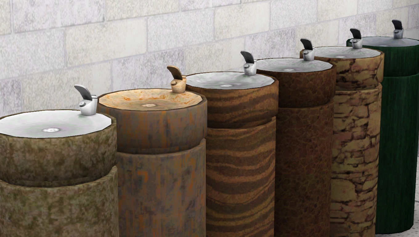 Secrets of the sixkillers downloads objects and poses for Decor 5 5 litre drink fountain