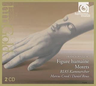 Poulenc - Figure humaine, Motets - RIAS Kammerchor, HMG 508394.95