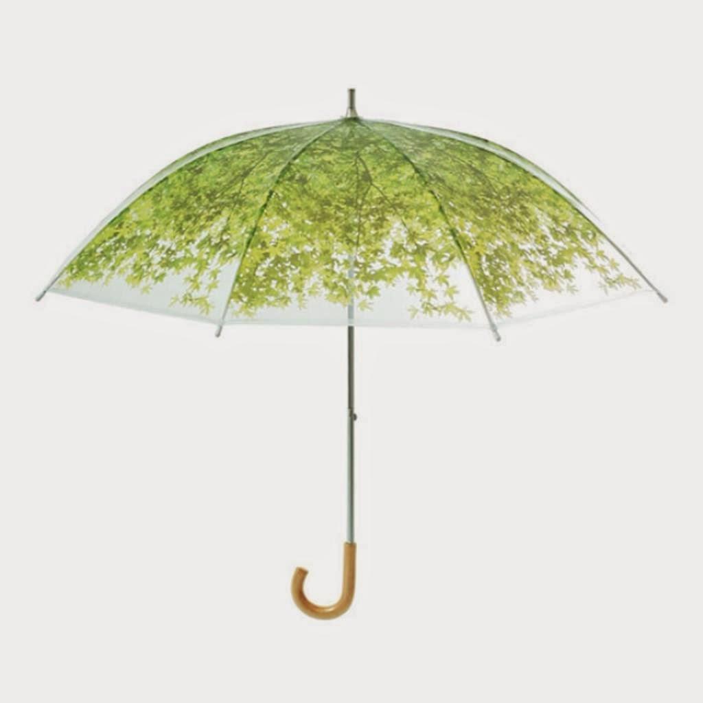 مظلة المطر على شكل شجرة