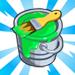 viral bullthemepartnermechanic paint buckets green 75x75 - CityVille: Materiais dos edifícios dos touros