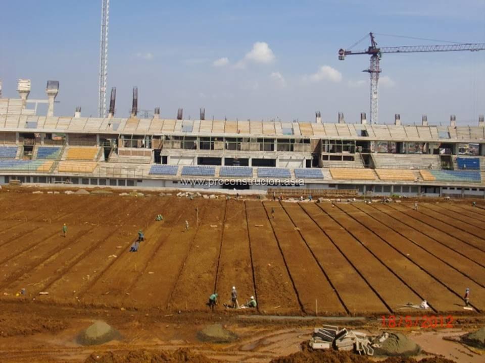 Rumput Stadion Gedebage Part 1