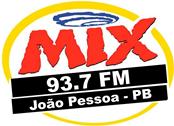 ouvir a Rádio Mix FM 93,7 ao vivo e online João Pessoa