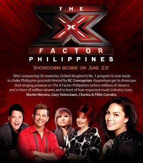 KC Concepcion X-Factor Host
