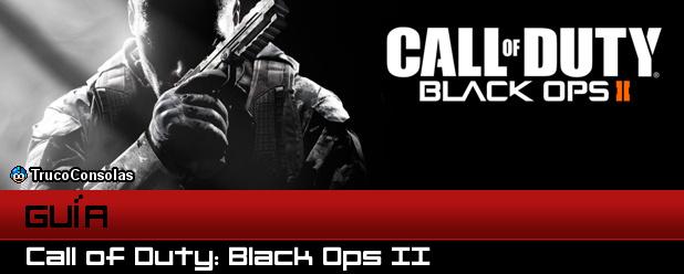 Guía Call of Duty Black Ops 2 XB360 PS3