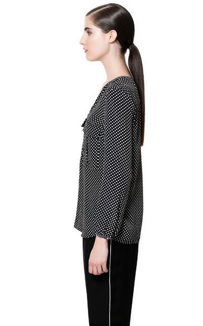 Zara Star Print Blouse 53