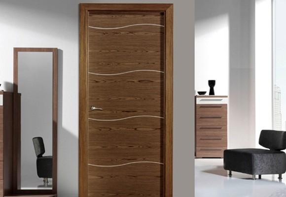 Marzua elegir la puerta adecuada para cada estancia for Puertas de madera para habitaciones