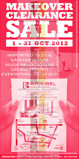 Infon-Mal Makeover Clearance Sale 2012