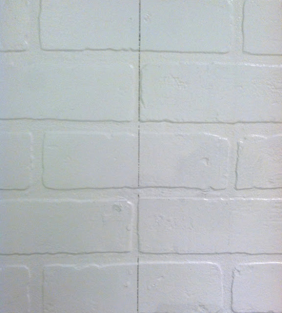 Brick Effect Hardboard