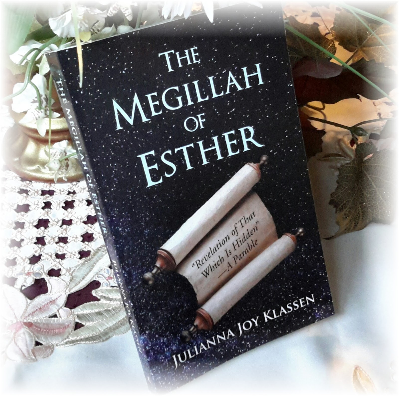 My Latest Book - looking at the book of Esther as a parable.
