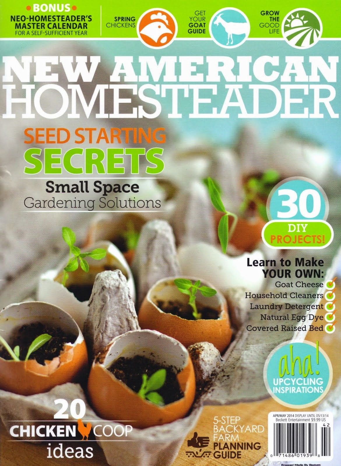 new american homesteader