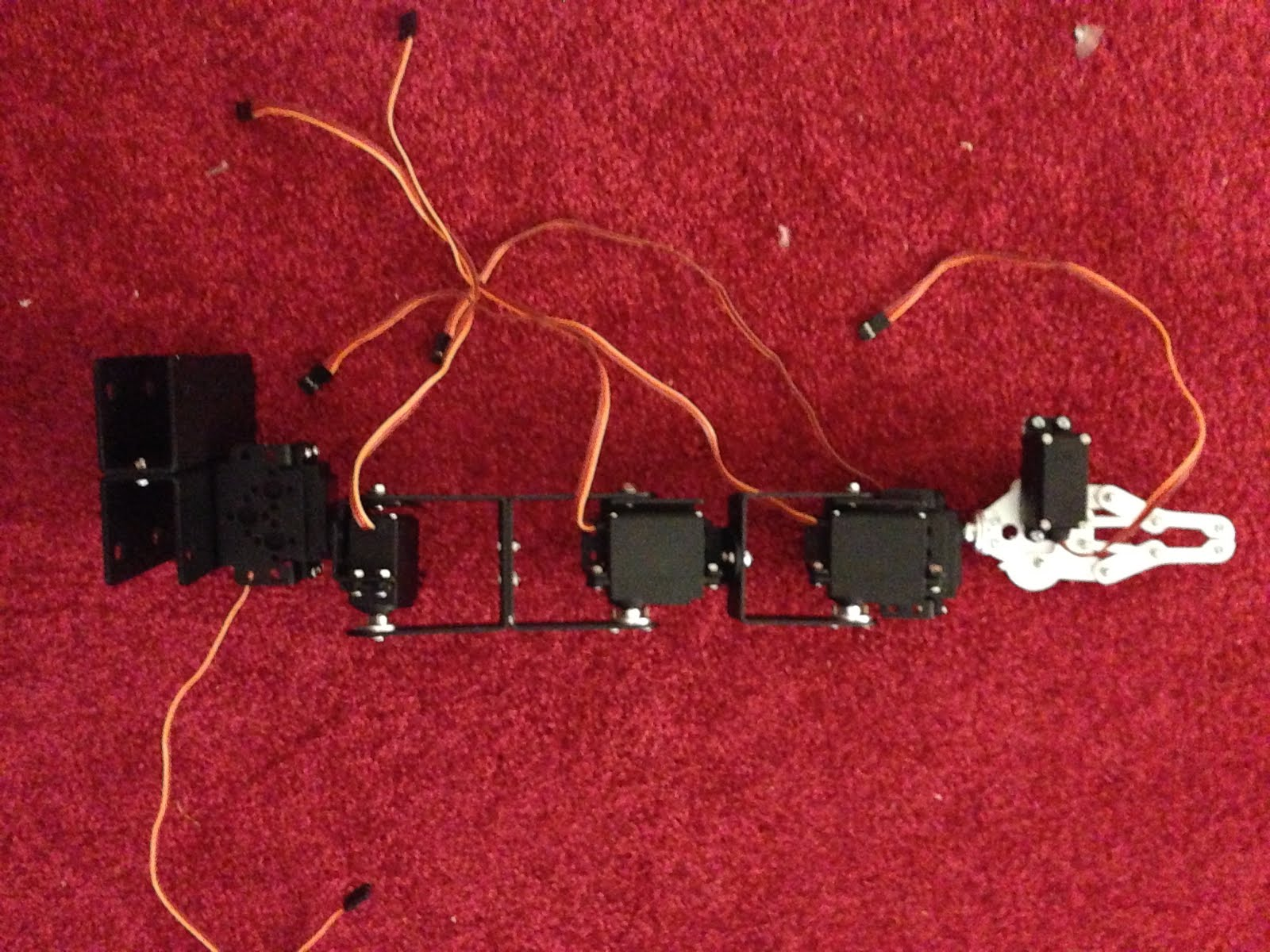 Sniff 6 Dof Robot Arm Kit Assembly Instructions How To Build Simple Servo Tester Use The Run All Parts Through Their Range Of Motion Hopefully You Checked Each Joint As Built It Make Sure That Was