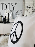 DIY PEACE Kissen
