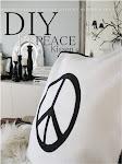 DIY PEACE Kissen