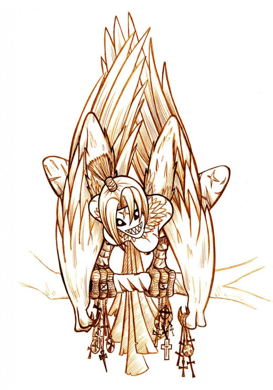 Creature - Harpy por Paladin-Ciel