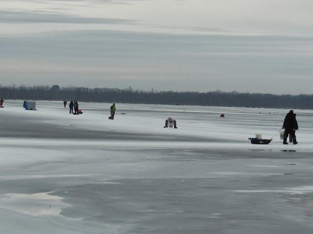 Fishing hunting in oswego county ny ice fishing before for Ice fishing ny