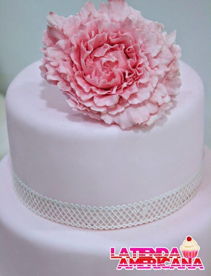 tarta de boda con peonias loleta linares blog mi boda gratis