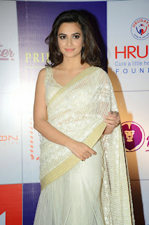 Kriti Kharbanda Latest Pictures in Saree at CCL Charity Dinner ~ Celebs Next