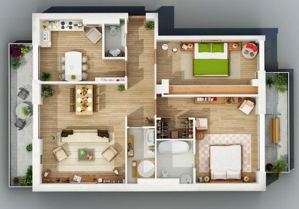 Rumah minimalis 2 kamar 3