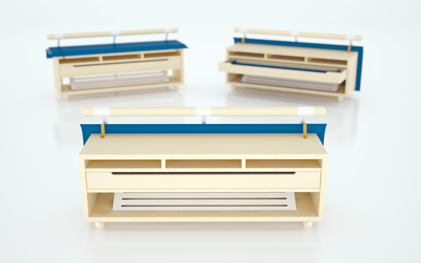 pronto storage bench