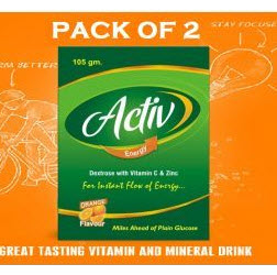 Shopclues: Buy Activ Energy Drink Pack of 2 + Rs.1 cashback Rs.43 only