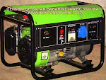 Genset Biogas BG 5000 W