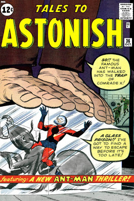 Tales to Astonish #86, Ant-Man v Comrade X
