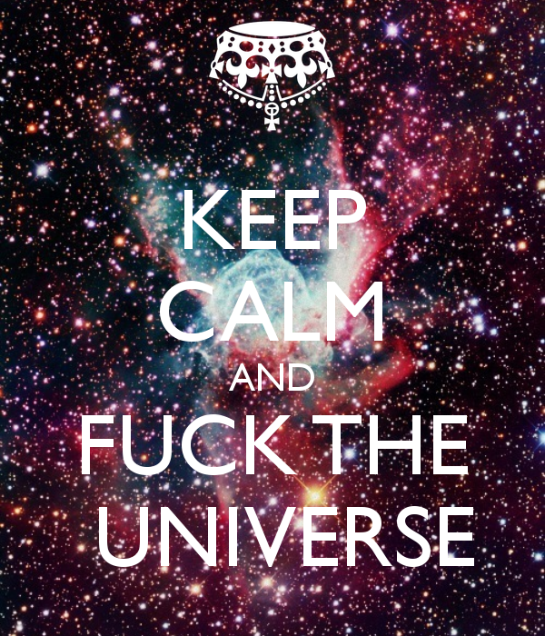 Craft fuck the universe