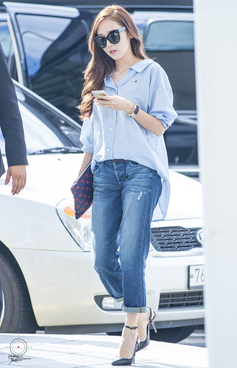 Jessica Airport Fashion 2015 Official Korean Fashion
