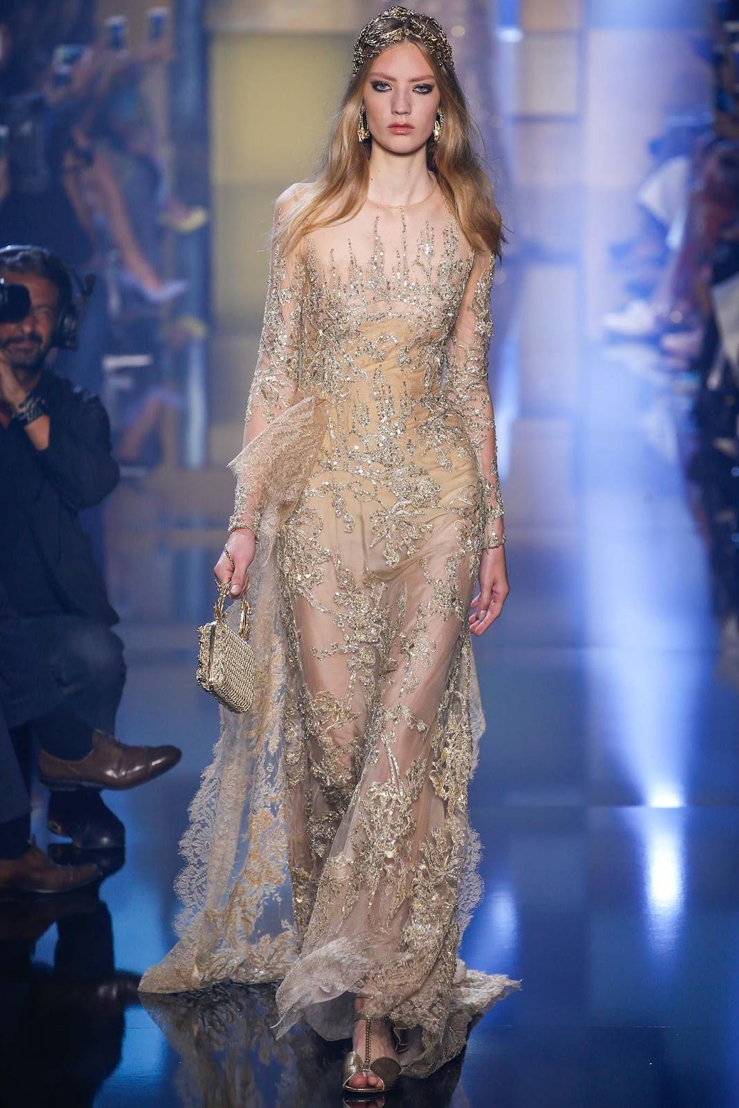 elie saab haute couture fall / winter 15.16 paris | visual optimism ...