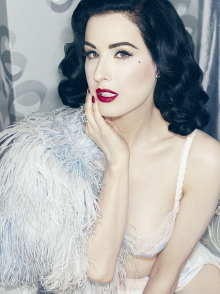 Von Follies by Dita Von Teese Fall 2013 StarLift Blue