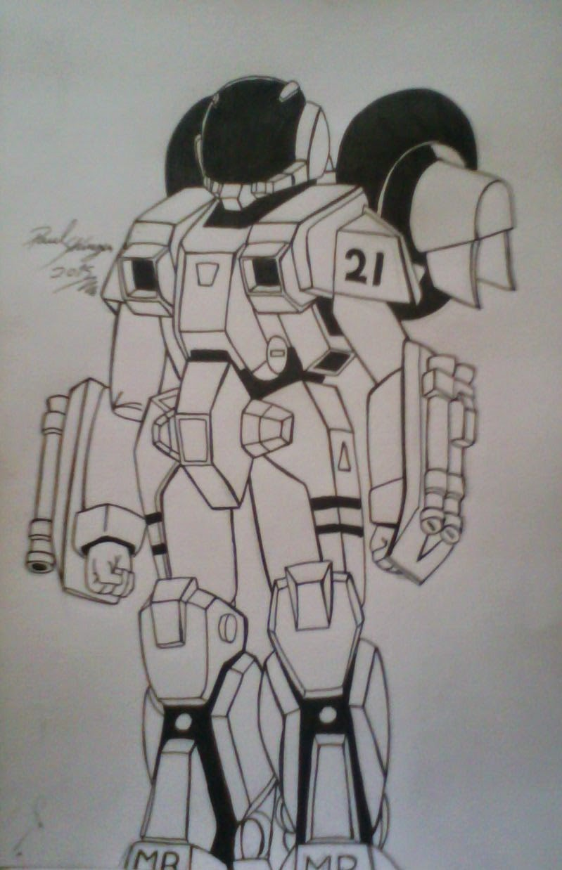 mis dibujos fan art robotech